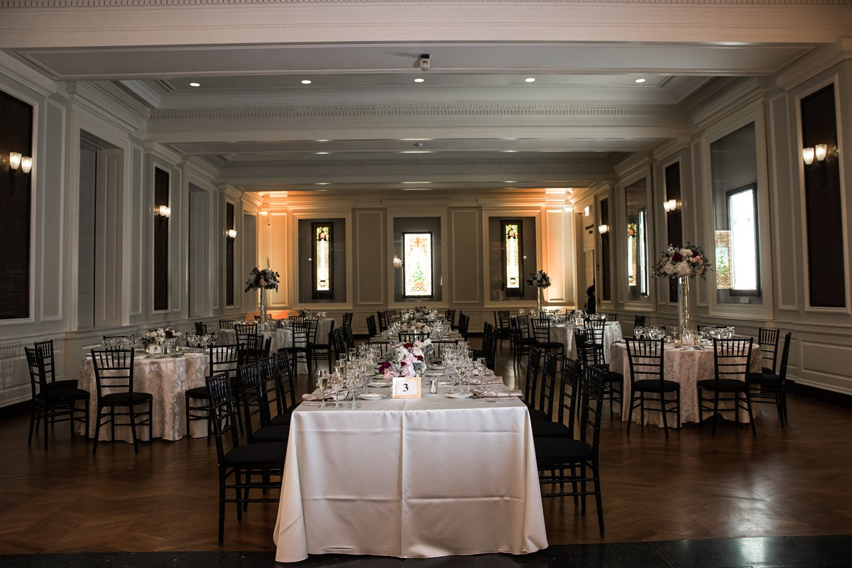 Classic Museum Wedding - Citygirl Events